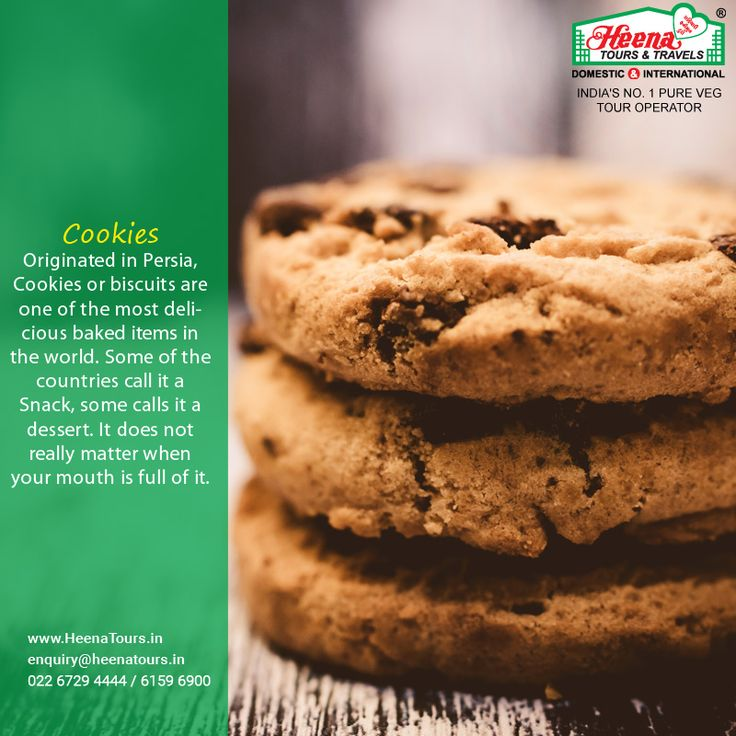 Originated in Persia, Cookies or biscuits are one of the most delicious baked items in the world. Some of the countries call it a Snack, some calls it a dessert. It does not really matter when your mouth is full of it.