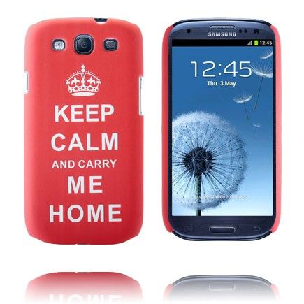 Party On (Rood) Samsung Galaxy S3 Case