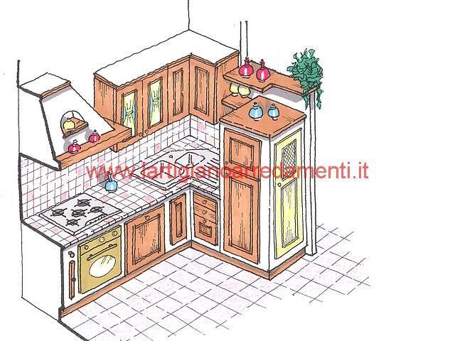 21 best Cucine images on Pinterest | Cottage, Kitchens and Modern ...