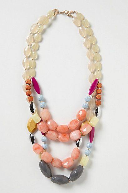 multicolor gemstone necklace