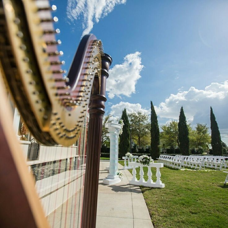Tampaharpist Wedding Ceremony Harpist In Tampa Bay Florida
