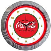 "Found it at Wayfair - Drinks 15"" Coca Cola 1910 Classic Wall Clock"