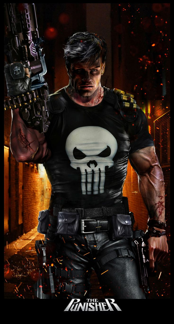 Punisher by uncannyknack