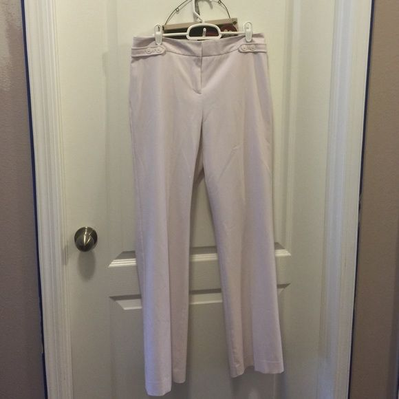 Chic White Slacks Chic white slacks by Josephine. Size 4. EUC. Josephine Pants