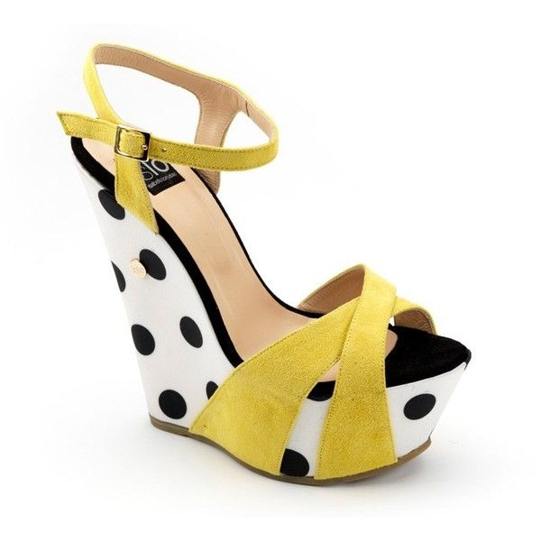 Bacio Camoscio Giallo ISLO These are different and cute,,reminds me of a dress i had when i was little :)