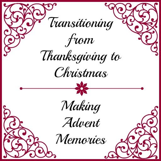 """I don't usually post on Sundays, but as I was putting together this post, it just """"felt"""" like a Sunday post. Perhaps it is because this is the first Sunday of Advent, and it just feels right to make this the day we transition to the Christmas season of anticipation and expectation."""