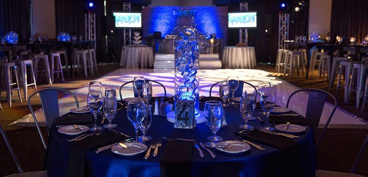 Image result for bar Mitzvah blue lights