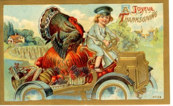 vintage thanksgiving cards | Awesome Vintage Thanksgiving Postcards ! To view and download the free ...
