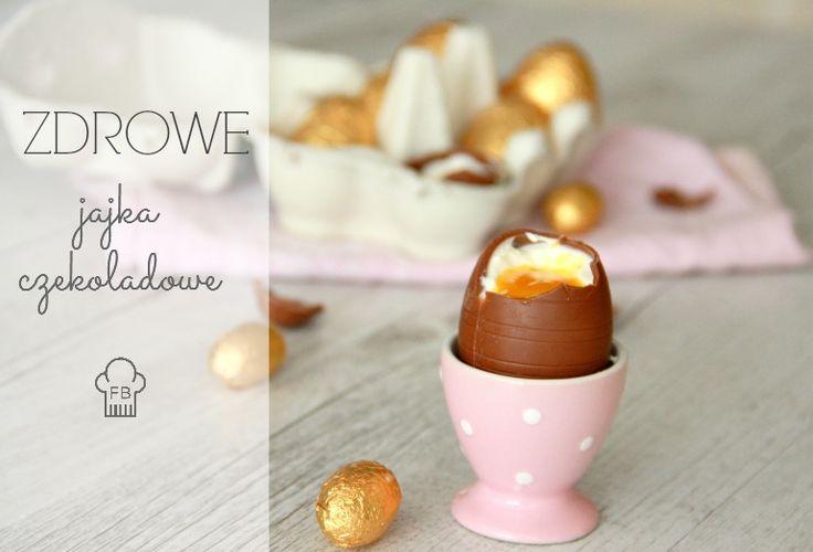 Czekoladowe jajka wielkanocne VS zdrowy deser dla dzieci
