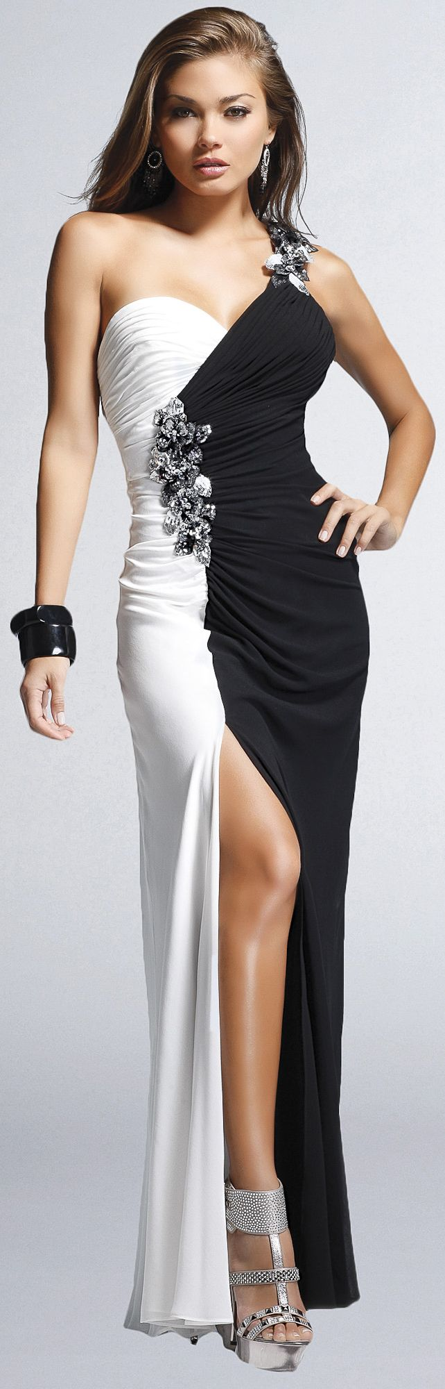 black and white fashion ♥✤ | Keep the Glamour | BeStayBeautifu