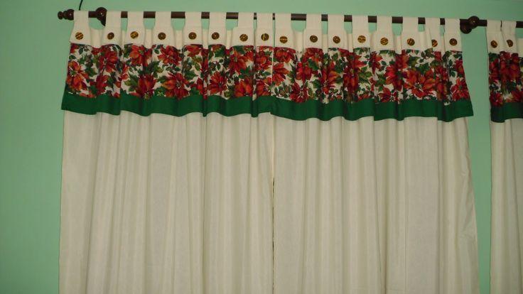 cortinas navideñas - Pesquisa Google