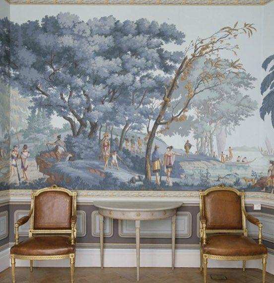 Sunday inspiration from one of my favorite de Gournay. . . #sunday #wallpaper #inspiration #degournay #instagood #interior #interiordesign #archdigest #team_jp_