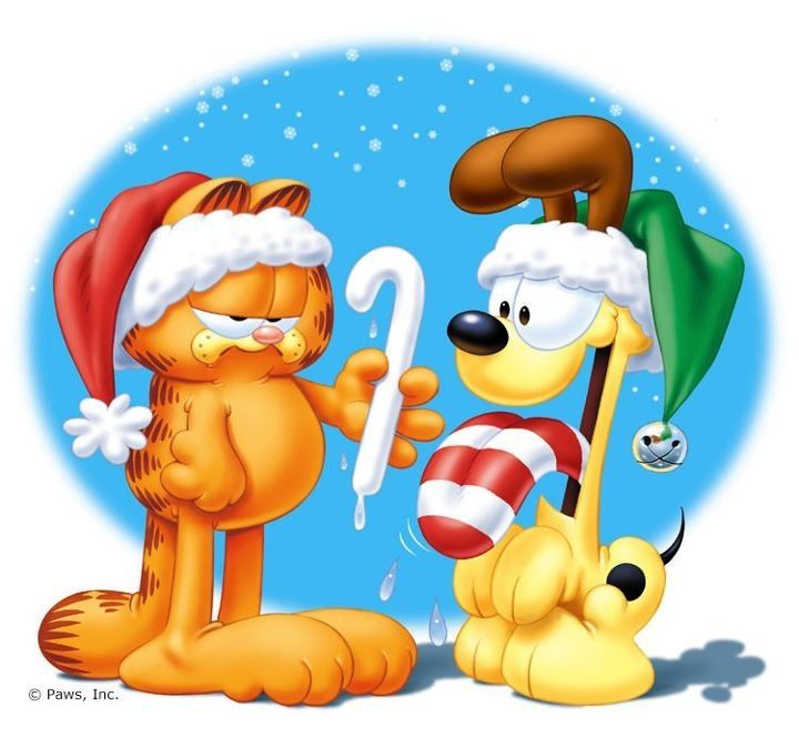 Garfield and Odie Christmas