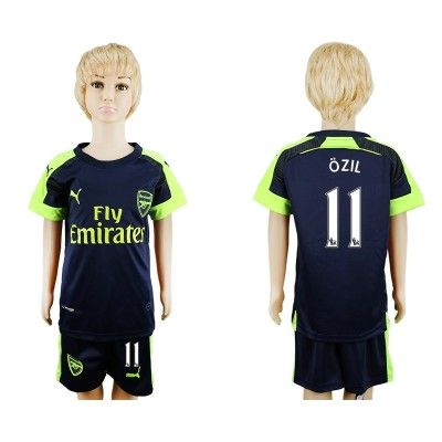 Arsenal Fodboldtøj Børn 16-17 Mesut Ozil 11 TRødje Trøje Kortærmet.  http://www.fodboldsports.com/arsenal-fodboldtoj-born-16-17-mesut-ozil-11-trodje-troje-kortermet.  #fodboldtrøjer