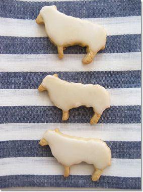 羊のアイシングクッキー。|レシピブログ