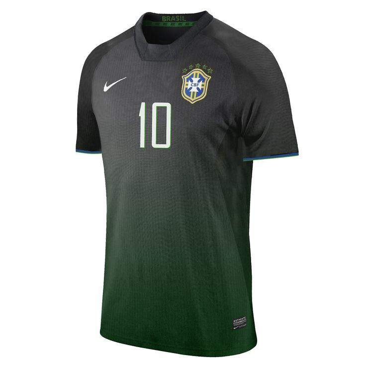 Proposal for Nike Brazil second jersey.