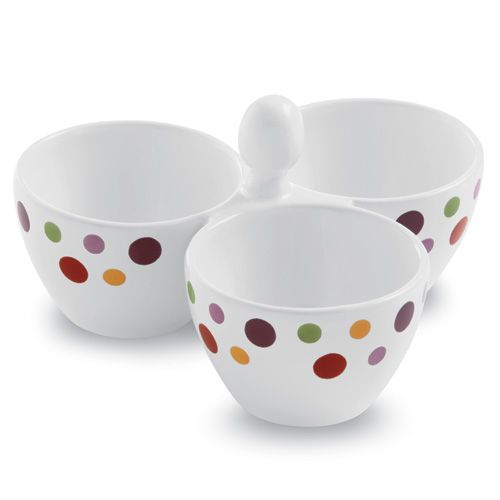 Check out the Outlet  www.pamperedchef.biz/wholovescooking   Dots Bowl Trio - The Pampered Chef® Dots Bowl Trio Item Number 2078 Beautifully display snacks, condiments, toppings and more.