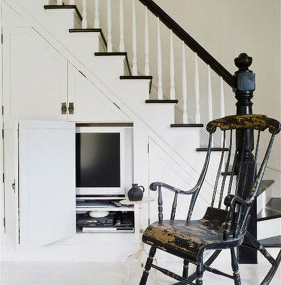 38 best under stair storage for tamar images on for Tv showcase designs under staircase