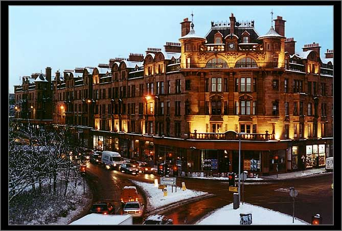 Charing Cross Mansions - architecture based on the design of the Hotel de Ville in Paris.....