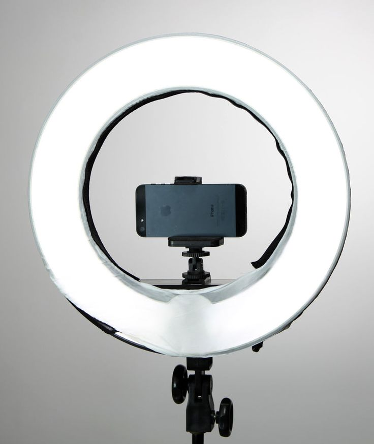 "Diva  Ring Light 12"" w/ Dimmer + Photo Stand+Mirror by Stellar Bundle #StellarLightingSystems"