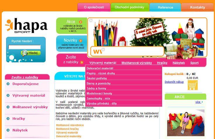 HAPA SPORT http://molitanove-vyrobky.cz/