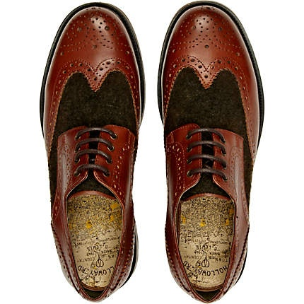 Onfire Mens Leather Loafer Shoe