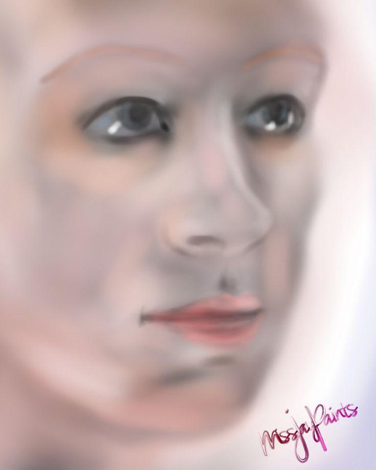 Original digital portrait created on iPad by @missjaypaints