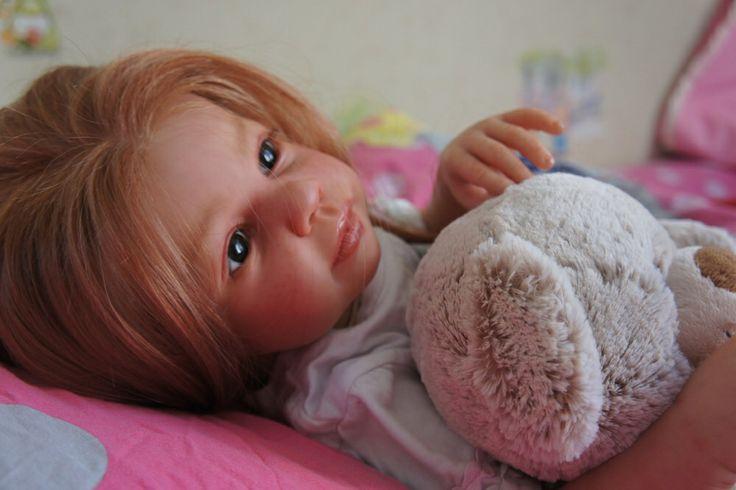 Куколка Софи. Сделана из винила. Сделаем на заказ. Время изготовления 2-3 недели
