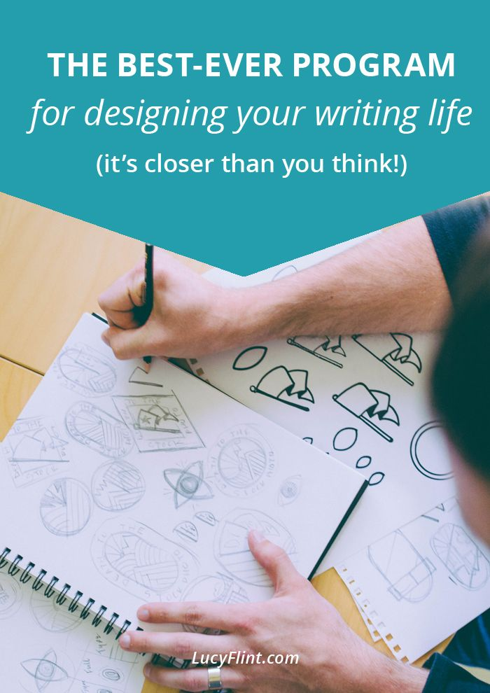 If you're looking for someone else to show up and fix your writing life (and I totally hear you on that!), then this post is for you, my friend. | lucyflint.com