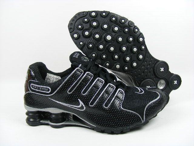 Women's Nike Shox Clearance | Home >> Women Nike Shox NZ >> Womens Nike Shox NZ Perforated Leather ...