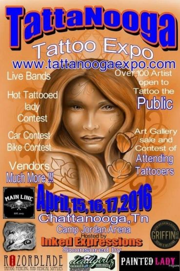 Tattanooga tattoo expo 2016