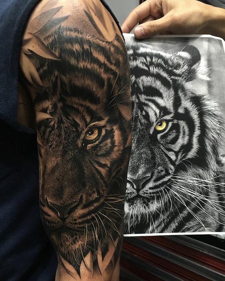 @fred_tattoo • #tiger #irezumi #tattoo