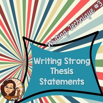 teaching esl students to write a thesis statement There are many different kinds of essays you will have to write as a student one  of these is a compare and contrast essay this lesson will.