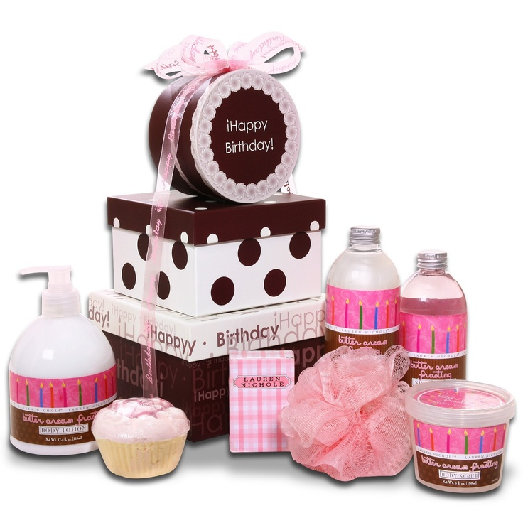 Happy Birthday Gift Tower By Gourmetgiftbaskets Com: 1000+ Images About Spa Gift Baskets On Pinterest