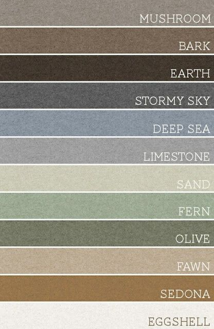 Paint Schemes for the ideal home.