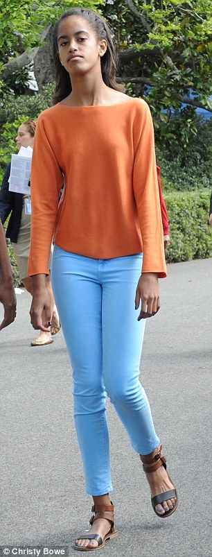 How Malia Obama has blossomed from an awkward teen to America's next style icon | Daily Mail Online