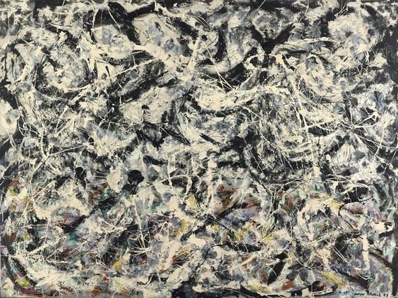 Greyed Rainbow (1953)  Jackson Pollock