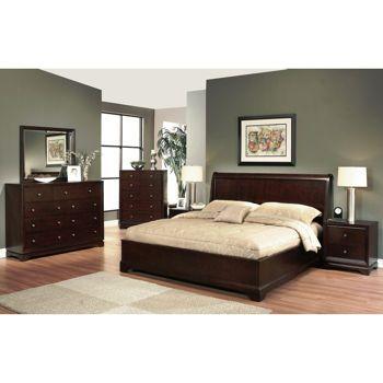 Model Of Vienna 6 piece Queen Bedroom Set Photos - Style Of costco bedroom furniture Review
