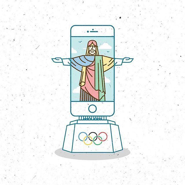 Jesus Olympic #logo #vector #rio #jesus #olympics #ui #rio2016 #riodejaneiro #life #host #smile #summer #illustration #vaniladesign #brasil #instaui #inspiration #design #icon #kadikoy #sky #cloud #picame #gfxmob #pirategraphic #heart #dribbble #happy #istanbul #behance #instaui @turgaymutlay