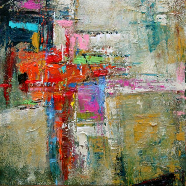 Modern Abstract Art | Afflatus, Modern Contemporary, Expressionistic, Original, Palette ...