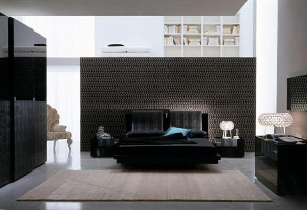 cozy bedroom design ideas in dark color