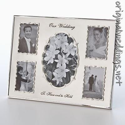 Wedding Picture Frame: Originals Spots, Frames Originals, Wedding Picture Frames, Wedding Pictures Frames, Collage Frames, Malden Metals, 5 Open Collage, Frames Awesomewed, Metals Wedding