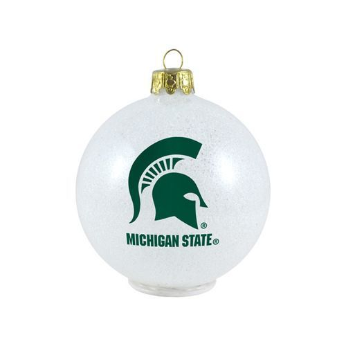 Michigan State Spartans Ornament - LED Color Changing Ball