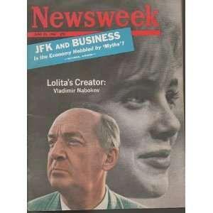 Эдмунд Уилсон - Роману Гринбергу, 9 мая 1969     <…> Видали Володю Набокова на обложке «Ньюсуика»? Он напоминает статиста нанятого, чтобы позировать в роли Володи - Владимира Набокова. <…>