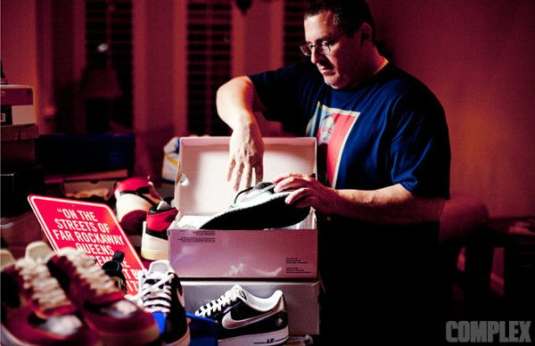 egotripland.com | MC Serch's 300 Pair Sneaker Collection For Sale.
