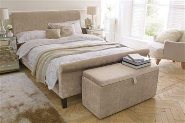 Portofino Mink Bedstead from the Next UK online shop £599