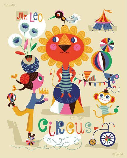mr leo circus * helen dardik