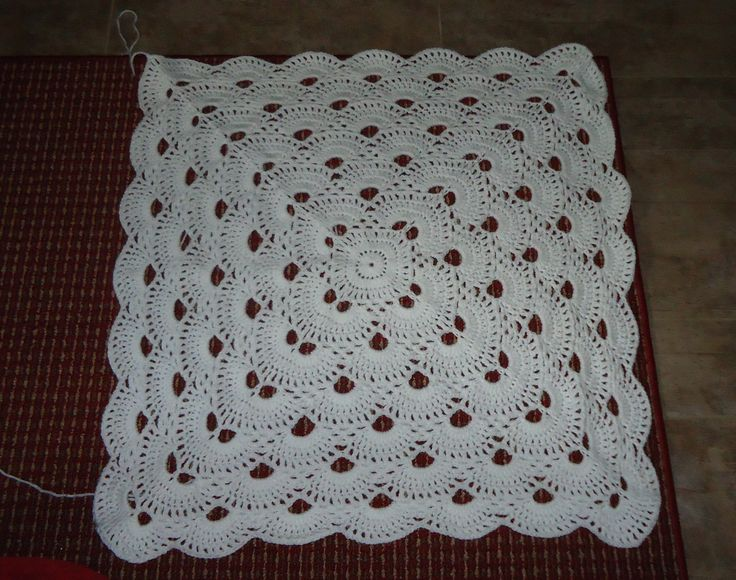 Crochet Pattern For The Virus Shawl : The