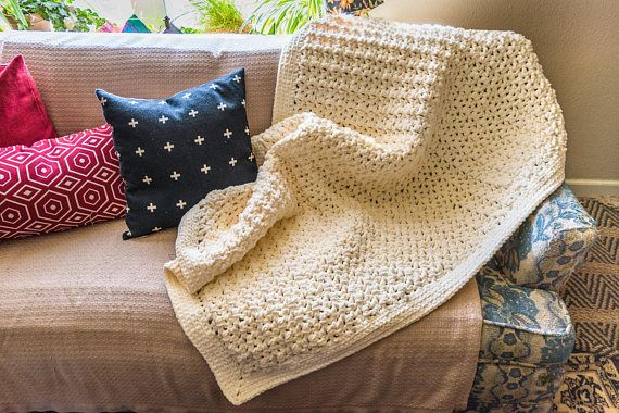 Check out this item in my Etsy shop https://www.etsy.com/listing/574310847/sale-chenille-blanket-bernat-blanket