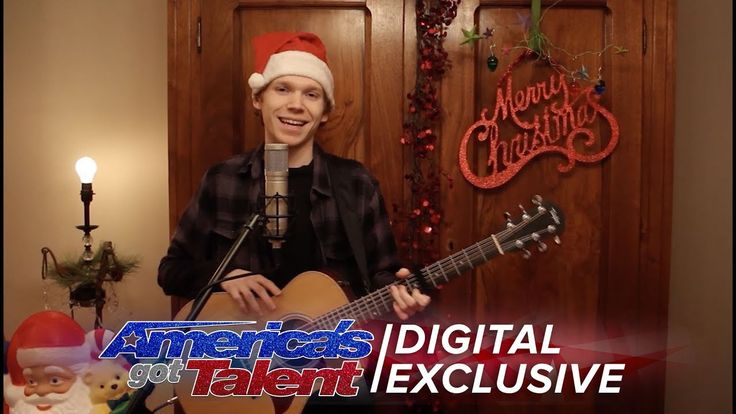 cool Chase Goehring: Hip Acoustic Cover of Jingle Bells - America's Got Talent 2017